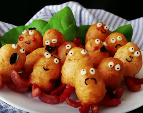 Сосиски в кляре осьминожки на сковороде рецепт пошагово