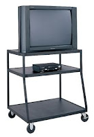TV on a cart
