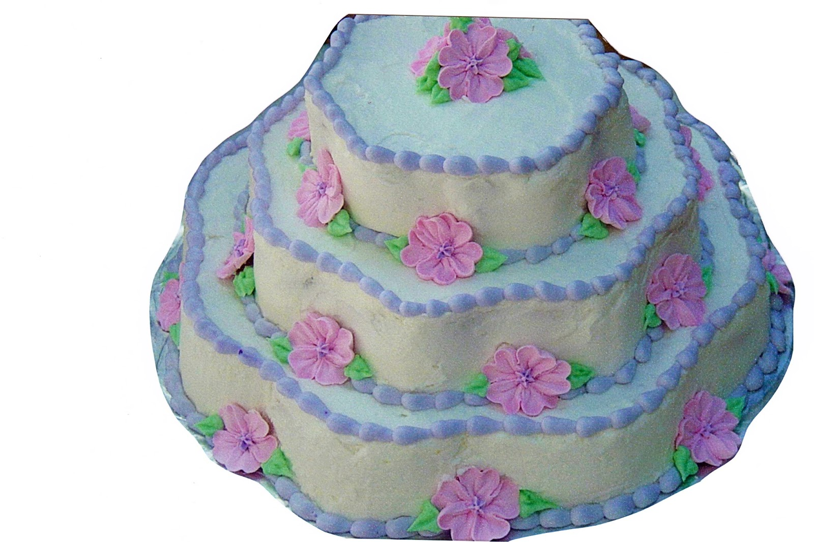 love this beautiful baby shower cake i made each tier was a different