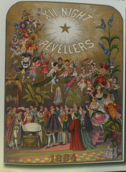Mardi Gras: Chronicles of the New Orleans Carnival 12 th night revelerers poster sample
