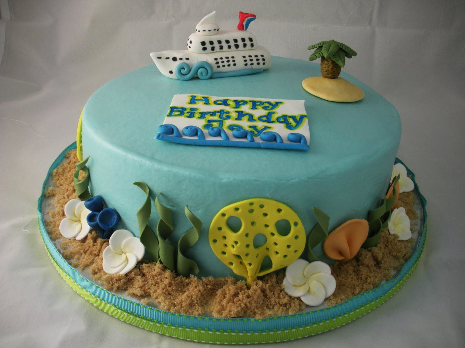 Sugar Spice Sweets Cruise Ship Cake - Cruise ship cake