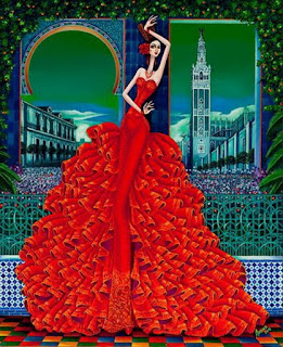 Cuadros Modernos Bailarinas Flamenco