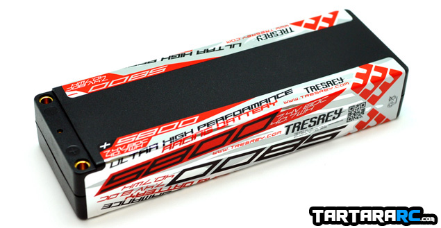 Tresrey 5800mAh 80C LiPo battery