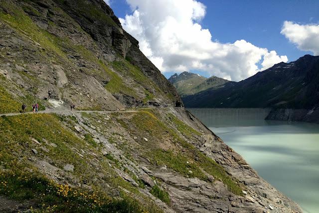 randonnée gand dixence suisse chemin des bouquetines