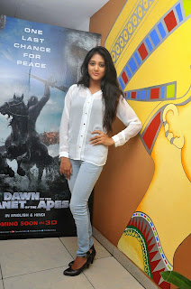 Sushma Raj in Lovely Transparent White Top and Denim Jeans Sparkling Looks