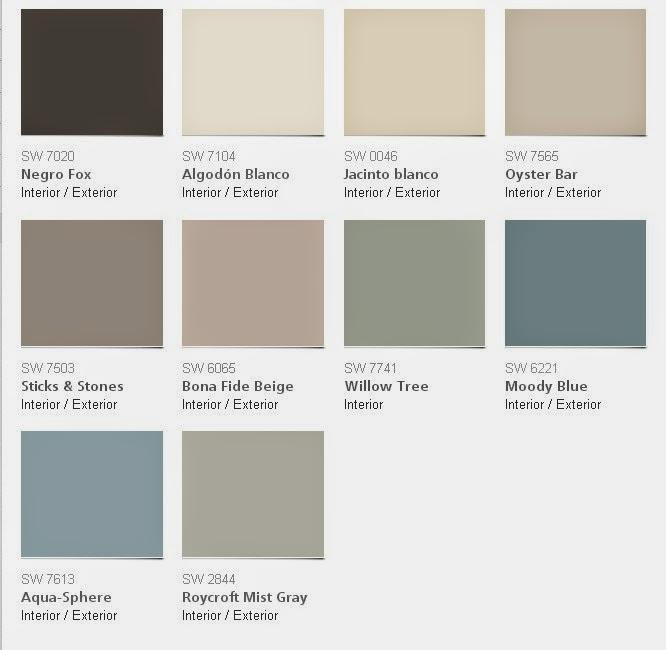 Tendencias de color sherwin williams para el 2015 for Sherwin williams cotton white