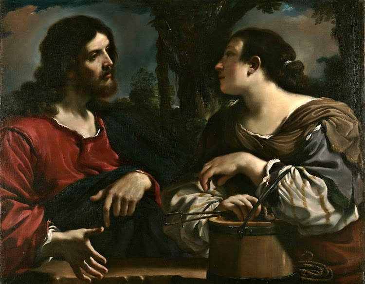 Giovanni Francesco Barbieri 'Guercino' - Christ and the Woman of Samaria