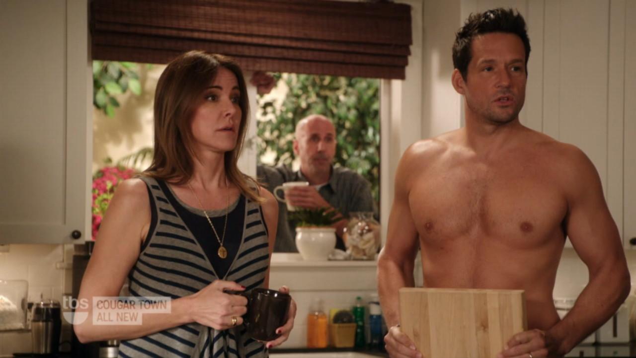 I Like Man: Megapost: Josh Hopkins in Cougar Town Naked