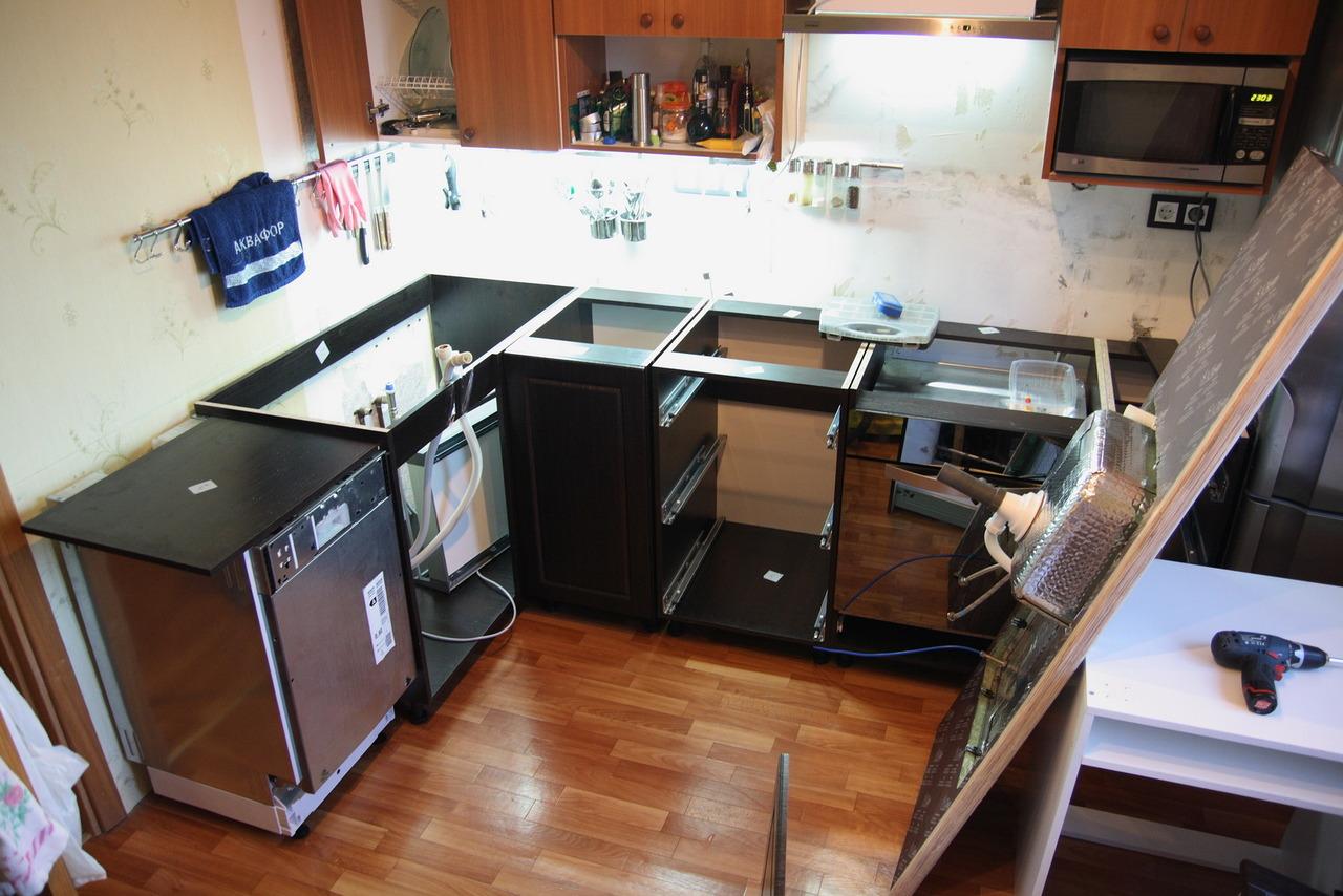 Сборка кухни своими руками или 277