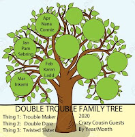 2020 Double Trouble Family Tree