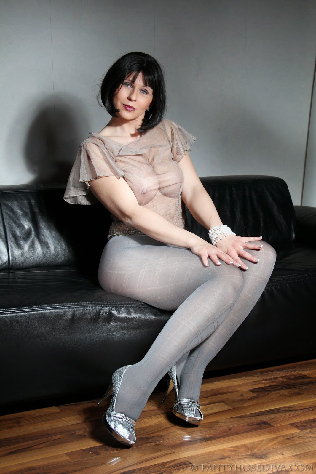Bit Of Matures And Pantyhose Horny 65