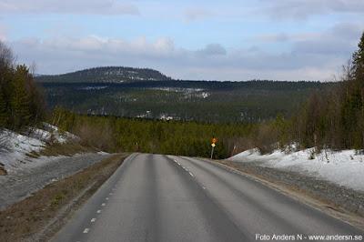 Lappland, landsväg, väg