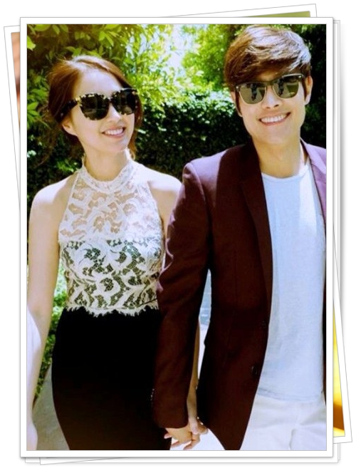 Lee Byung Hun Lee Min Jung wedding