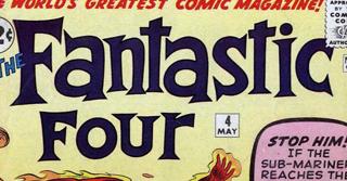 Fantasic Four #4 - Sub-Mariner Introduction