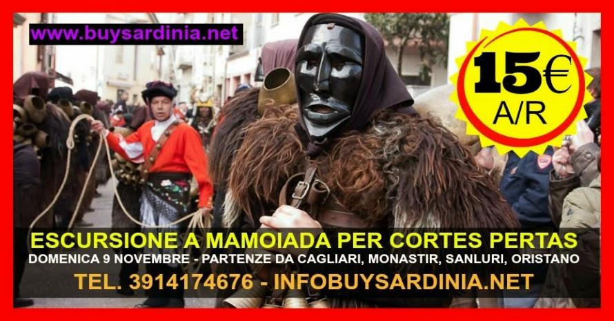 AUTUNNO IN BARBAGIA | ESCURSIONE A MAMOIADA PER CORTES APERTAS - DA 15€ - PARTENZA DA CAGLIARI