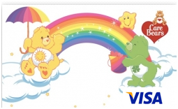 Care Bears Visa prepaid cards from CARD.com