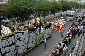 Chennai Superkings Team Parade