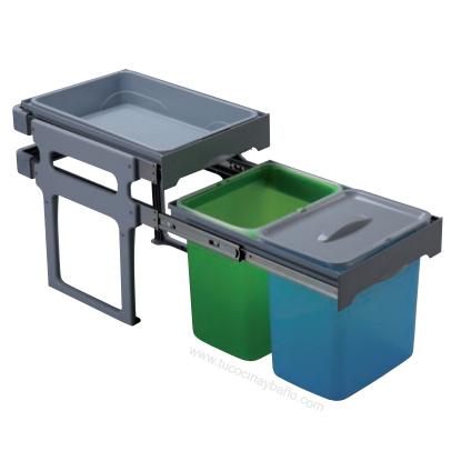 Cubo basura extraible tank tu cocina y ba o - Cubos de basura extraibles ...