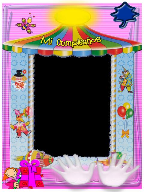 Marcos de cumpleaños para niños - Imagui
