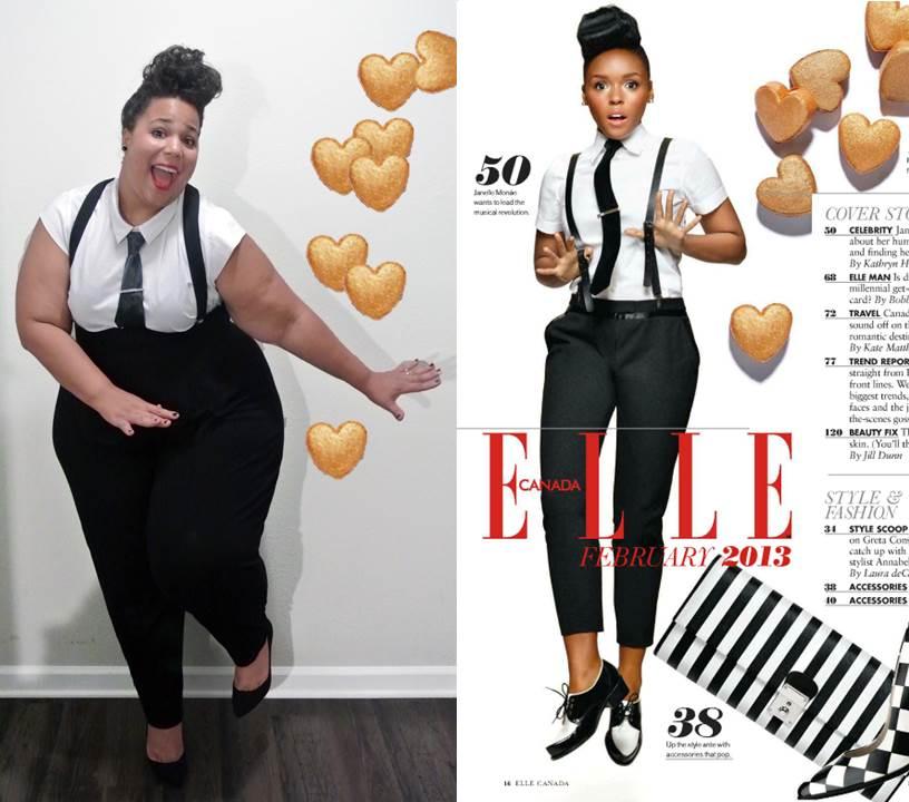 Janelle Monet Style, Plus Size Celebrity Style