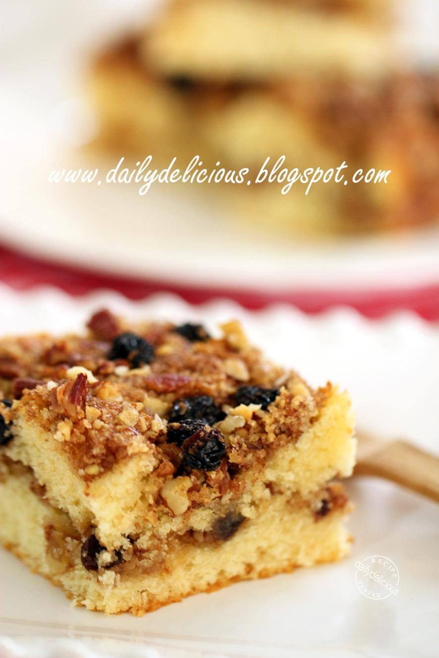 Pecan Coffee Cake Yeast