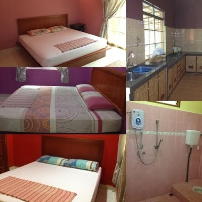 Nany House- Bed Room, Kitchen and Bathroom
