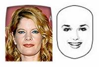 model rambut wajah persegi