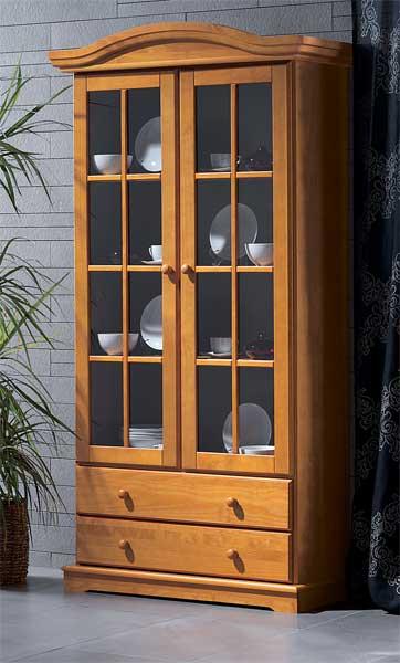La web de la decoracion y el mueble en la red vitrinas - Vitrinas de madera para comedor ...