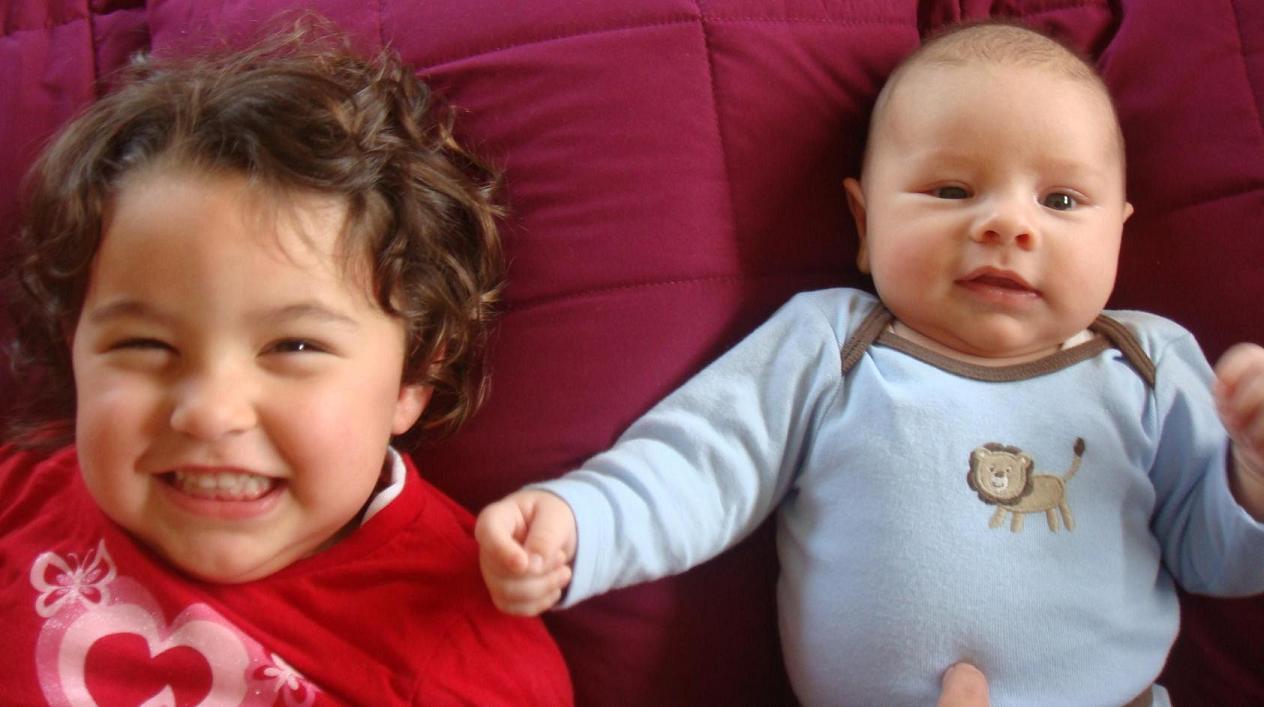 Lilli and Caden