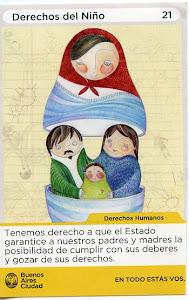 Banner derechos del niño,Proyecto: CABA.- Unesco