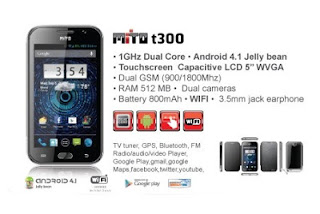 Hp Mito T300, Android Jelly Bean Layar 5 Inci