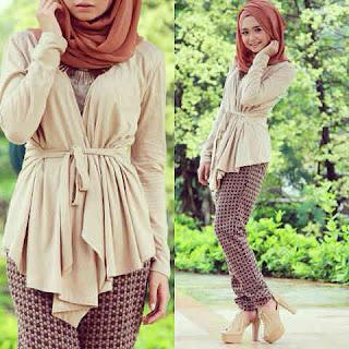 gaya-hijab-baby-doll-blouse