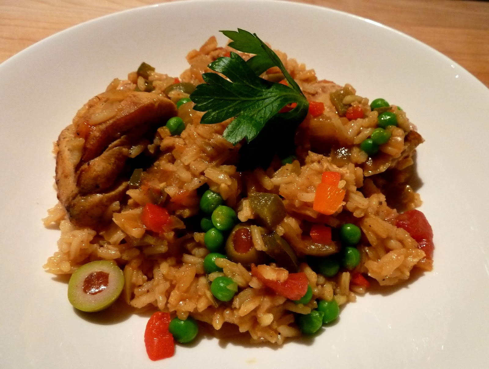 Cracked Pepper: Arroz Con Pollo