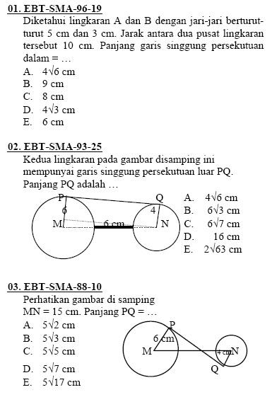 4 Soal Matematika Soal Geometri Lengkap Dengan Pembahasan
