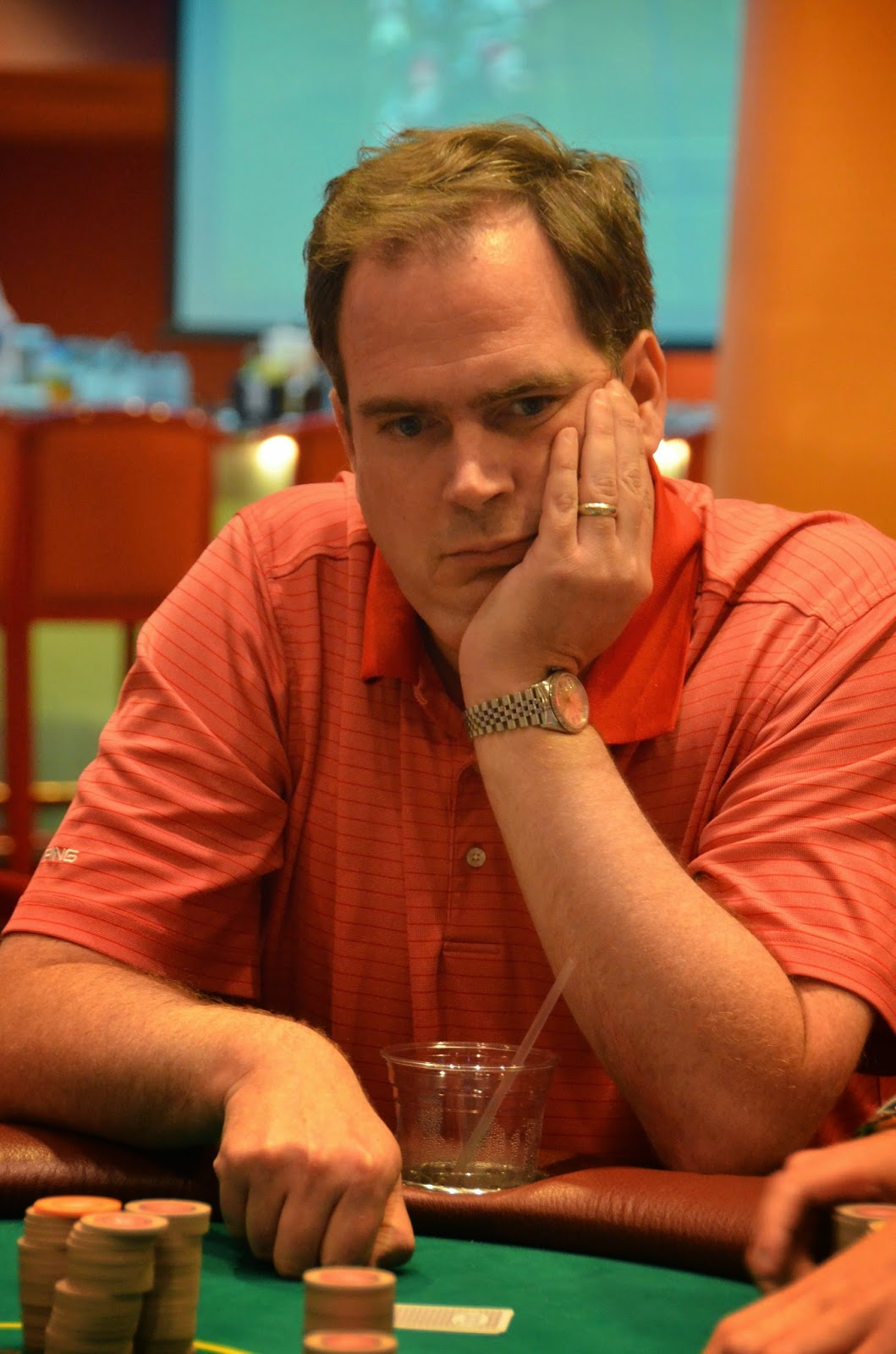 Parx big stax vii big stax 1500 day 2 18th place bolte 5 005 for Parx poker room live game report