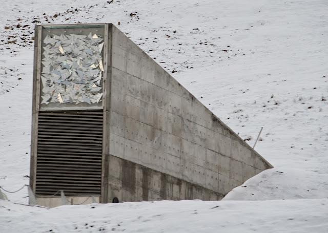 Svalbard Seed Vault.