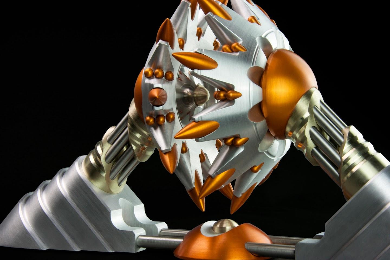 CNC, Sculpture,Digitally Fabricated metal Sculpture image (DQ5)