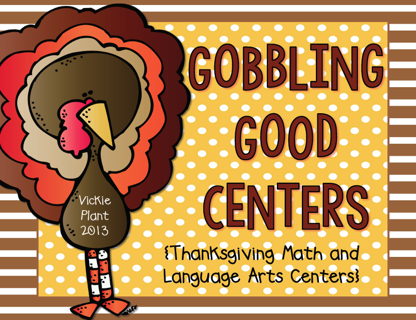http://www.teacherspayteachers.com/Product/Gobbling-Good-Centers-Math-and-Language-Arts-Centers-395485