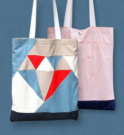 diamond tote bag tutorial Sewing Patterns For Tote Bags