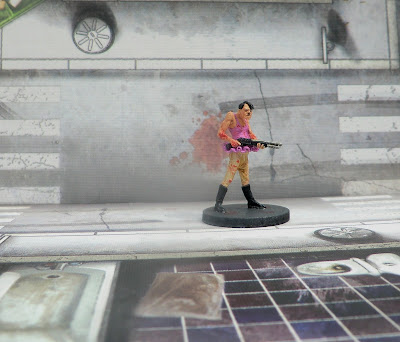 Hasslefree, Golgo, alternative survivors, zombicide, hero, renato, Ramirez, nazi, tutu, pink, paint