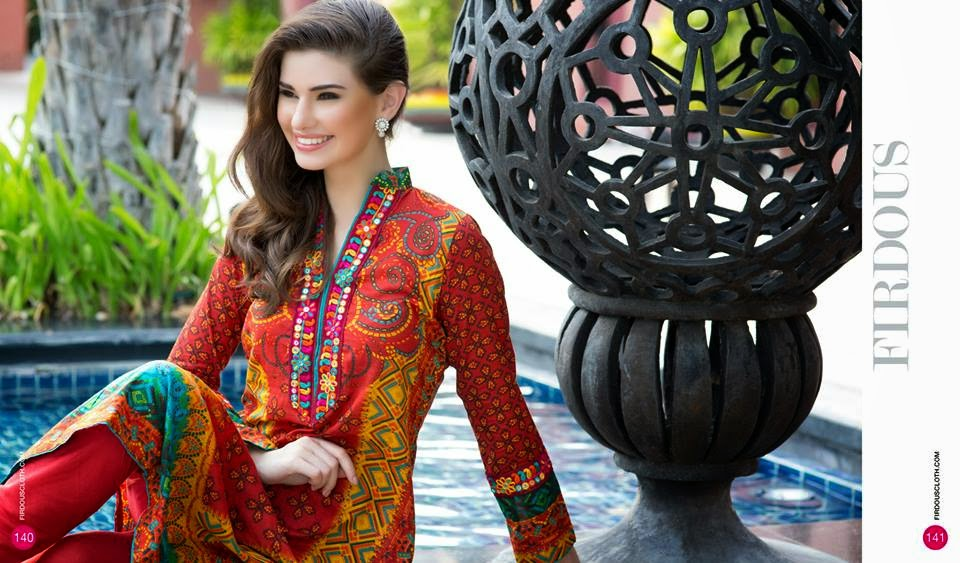 Best summer lawn dresses collection
