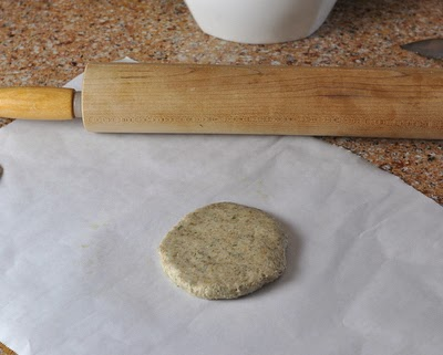 How to make Grilled Flatbread from scratch, step-by-step photos and instructions. After all the prep, you'll have this neat little flat round of dough. Time to start rolling!