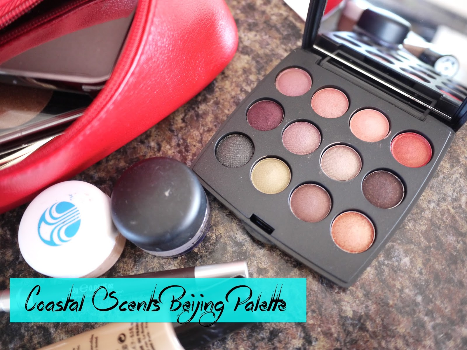 Coastal Scents Beijing Palette review