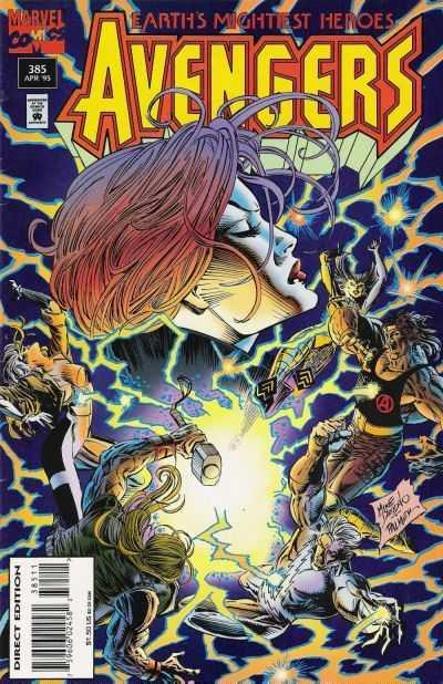 Avengers 385 Cover