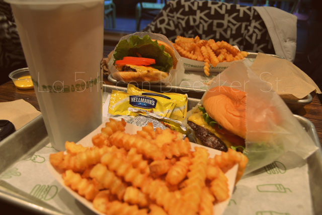 Shake Shack, las mejores hamburguesas de Nueva York