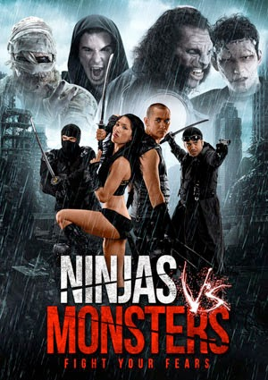 Ninjas vs Monsters 2013 poster