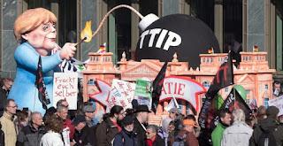 Zaragoza también contra el TTIP