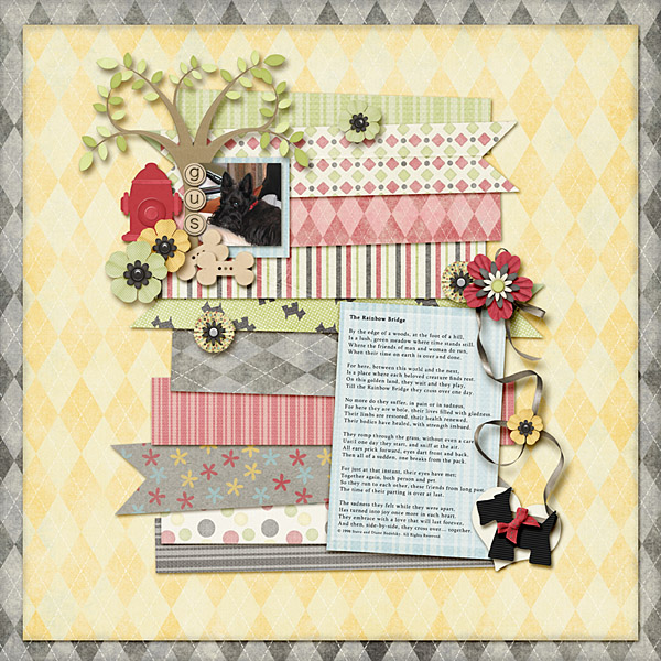 digital scrapbooking layouts
