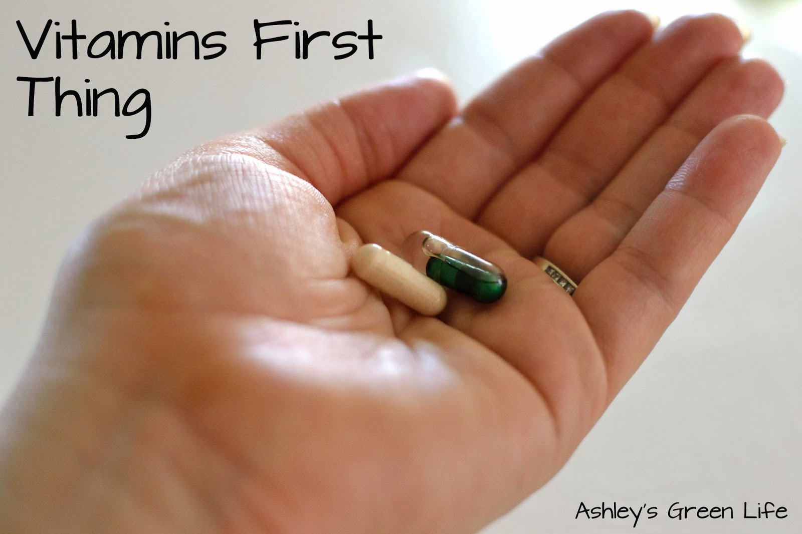 Ashley\'s Green Life: My Vegan Prenatal Vitamins & Supplments