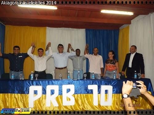 Posse do novo diretório do PRB Gravatá, Presidente Val do Ônibus.
